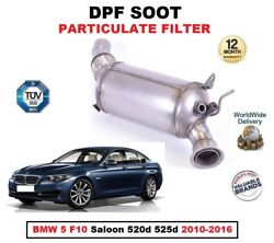 Dpf Diesel Soot Particulate Filter For Bmw 5 F10 Berlina 520d 525d 2010-2016