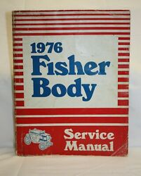 Gm Body By Fisher 1976 Service Manual Shop Auto Repair Guide Book Pontiac Buick
