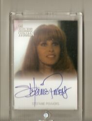 Stefanie Powers In The Return Of Bigfoot Autograph The Bionic Woman Card Rare