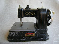 Vintage Vulcan Childs Sewing Machine Made In England