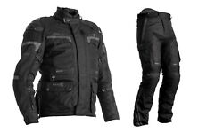 Rst Pro Series 2020 Adventure-x Ce Black Textile Motorcycle Jacket And Trousers