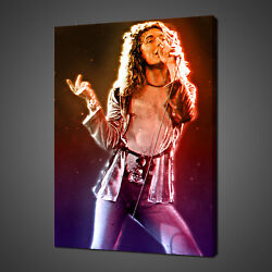 Robert Plant Led Zeppelin Canvas Print Picture Wall Hanging Art Free Delivery