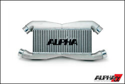 Alpha Tuning Front Mount Intercooler For Oem Piping For 2009+ Nissan Gt-r