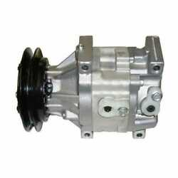 Air Conditioning Compressor Compatible With Kubota M9000 M6800 M120 M4900 M110