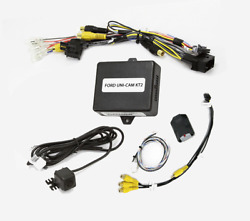 Nav-tv Front View Camera Kit For 13-19 Ford Super Duty And F-150 With 4 Screen
