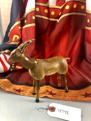 6 Antique American Composition Schoenhut Circus Gazelle Doll Rare 18198