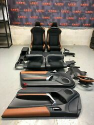 2016 Scion Frs Rs2.0 Brz 86 Oem Tan Brown Trimmed Interior Package Seats Panels