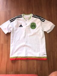 Adidas Mexico Soccer Jersey Youth Large 13-14y