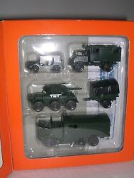 Roco 383 5 Piece U.s. Military Set As Pictured H.o.scale 1/87