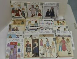 Lot Of 47 Vintage Boys And Girls Sewing Patterns Mccall And Simplicity Plus Extras