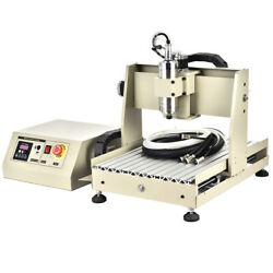 3/4axis 400/800w Cnc 3040 Router Engraver Wood 3d Cutter Engraving Machine Usa