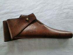 U.s. Rock Island Arsenal Leather Holster For Colt 1905 Army And Navy Da .38 Cal