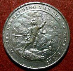 Judeo Christian Joshua Commanding The Sun To Stand Still Medal By Thomason