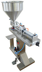 110v Single Head 10-300ml Liquid Paste Filling Machine With Stand Free Shipping