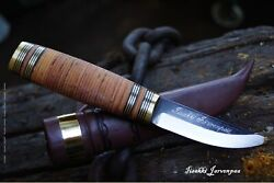 Jarvenpaa 1244 Scandinavian Knife Imported From Finland
