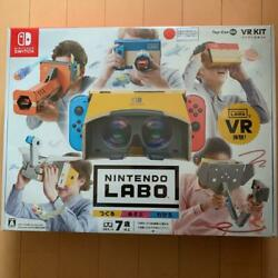 Nintendo Labo Toy-con 04 Vr Kit For Switch Japanese Game Craft Make Play New Jpn