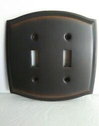 Antique Bronze 1switchplate Wall Plate Covers Light Switch 2 Toggle