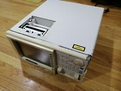 Ando Aq6317b Optical Spectrum Analyzer, No Optical Parts Or Not Working.