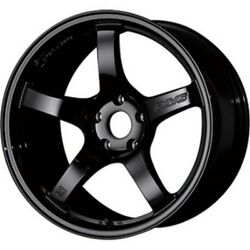 Rays Gram Lights 57cr 18x8.5/9.5j +37/+38 Black Set Of 4 For Fd3s/mk4 From Japan