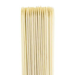80 Pcs 12 Inches Bamboo Skewers Perfect For Fruit, Vegetables, Bbq Or Kebabs