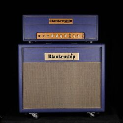 Used 2008 Blankenship Leeds 21 Tube Tremolo Guitar Amplifier Head With 2x12 Cab