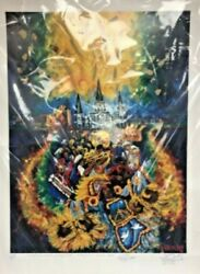 Nc89 Frenchy Poster With Signatures Mardi Gras Indians 23x33