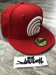 Ds Fitted Hawaii Red Mua Hat 7 3/8 Not Farmers Market Hawaii 808allday In4