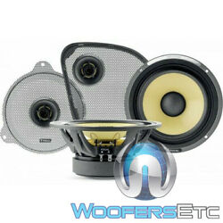 Focal Hdk-165 2014 Up Harley Davidson 6.5 125w Rms K2 Power Component Speakers