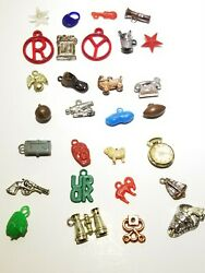 29 Vintage Cracker Jack Gumball Machine Prize Charm Toys Early 1950s