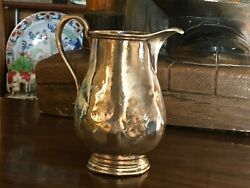 Vintage Hotel Sterling Silver And Co Creamer Pitcher Summit Club Tulsa