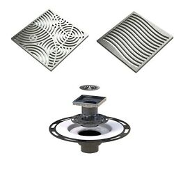 Shower Drain Assembly Kit With Grate Cover, Warmlyyours Pro Gen Ii Drain Kit