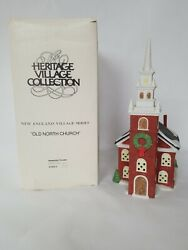 Dept 56 Village Old North Church 5932-3 Christmas New England Series
