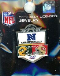2020 Packers Vs 49ers Nfc Conference Championship Dueling Pin Liv 54 From Levi