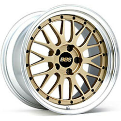 Bbs Japan Lm 18x10.0j Gold Set Of 4 For Nissan Skyline Gt-r R33/34 From Japan