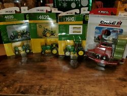 John Deere 4 Piece Toy Set -toys For Kids Or Collectibles