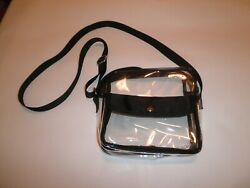 Clear Purse - Shoulder or Cross Body - Stadium Bag Approved - iSpecle $3.25