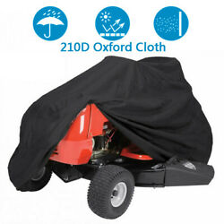72inch Riding Mower Cover Outside Yard Lawn Garden Tractor Protector Waterproof