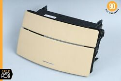 07-09 Mercedes W221 S550 S450 Center Console Dashboard Cd Player Cover Brown Oem