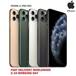 Apple Iphone 11 Pro Max 256gb New Smartphone 4 Colors A2220 New