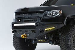 Addictive Desert Honeybadger Winch Front Bumper For 2015-2018 Colorado And Canyon