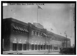 8 X 10 Photo 1910 And 1915 Fenway Park Exterior