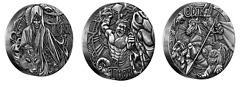 2016 Silver Norse Gods Complete 3 Coin Set Low Mintage