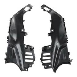 Matte Black Side Inner Fairing Parts Cover Panel Fit For Yamaha Tmax 530 17-18