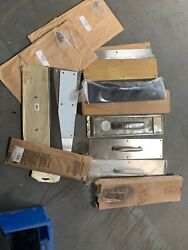 Lot Of Commercial Push Pull Door Plates Some Are New Some Are Used