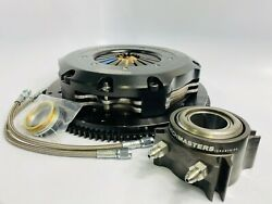 Clutch Masters 8.50 Twin Disc Kit For Mitsubishi 6g75/74/72 W/3g Eclipse V6 5mt