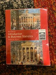 Introduction To Business Statistics By Ronald M. Weiers 7th Edition, Paperback