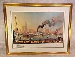 Baltimore Artist Proof Print By Paul Mcgehee 1/95 W/ Remarque Prof Framed 1980