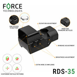 Force Reflex Red Dot Sight Rds 1x35mm - With 2-button Operation Red/green 4moa