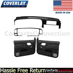 Coverlay Complete Restoration Kit Black 18-798c59n-blk Manual Lock And Window Only