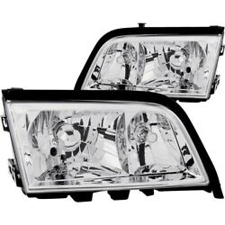 121081 Anzo Headlight Lamp Driver And Passenger Side New For Mercedes C Class